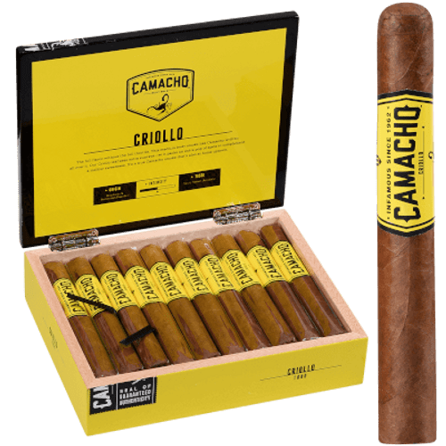 "Camacho Criollo Cigar Toro 20 Ct. Box 6""X50"