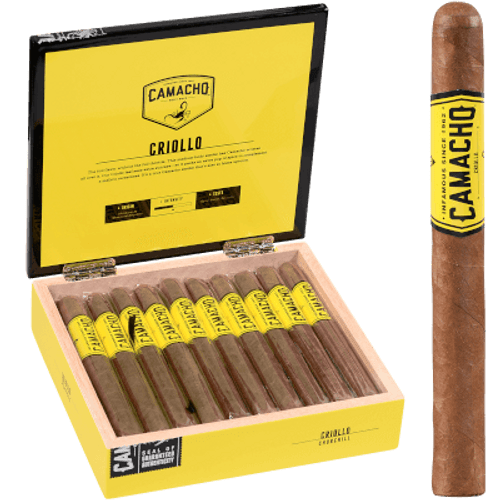 "Camacho Criollo Cigars Churchill 20 Ct. Box 7""X48"