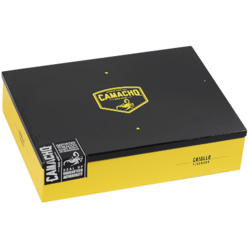 """Camacho Criollo Cigar Figurado 20 Ct. Box 6.13""""X54"""