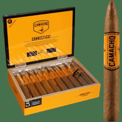"Camacho Connecticut Cigar Figurado 20 Ct. Box 6.13""X54"