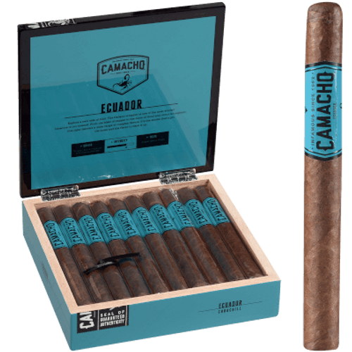 "Camacho Ecuador Cigar Churchill 20 Ct. Box 7""X48"