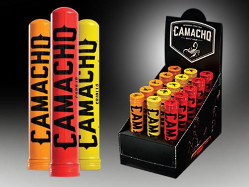 "Camacho Robusto Cigar Tubo 15 Ct. Display 5""X50"