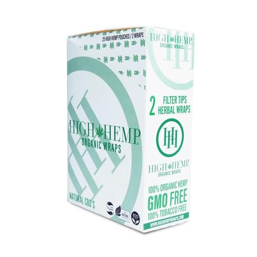 High Hemp Organic Wrap   25/2