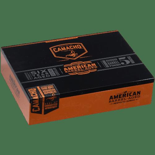 Camacho American Barrel-Aged Perfecto Cigar Gordo 20 Ct. Box