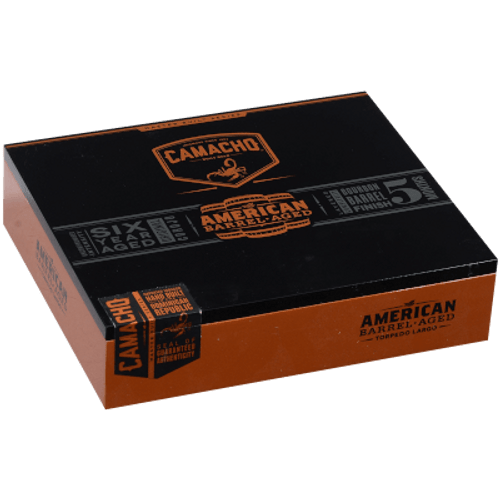 Camacho American Barrel-Aged Cigar Torpedo Larga 20 Ct. Box
