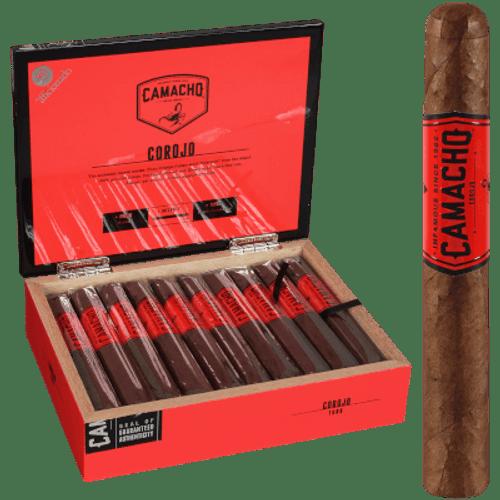 Camacho Corojo Natural Cigar Toro 20 Ct. Box