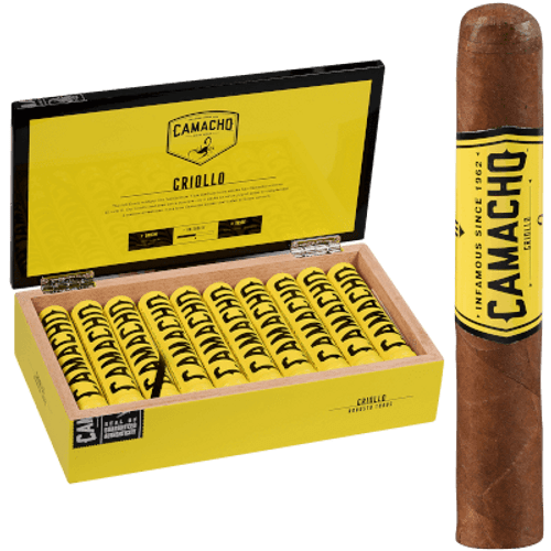 Camacho Criollo Cigar Robusto Tubo 20 Ct. Box