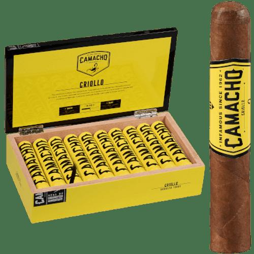 Camacho Criollo Cigar Robusto Tubo 20 Ct. Box