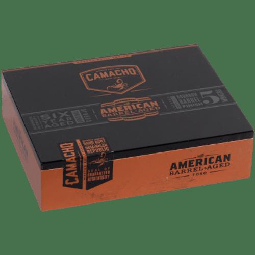 Camacho American Barrel-Aged Cigar Toro 20 Ct. Box