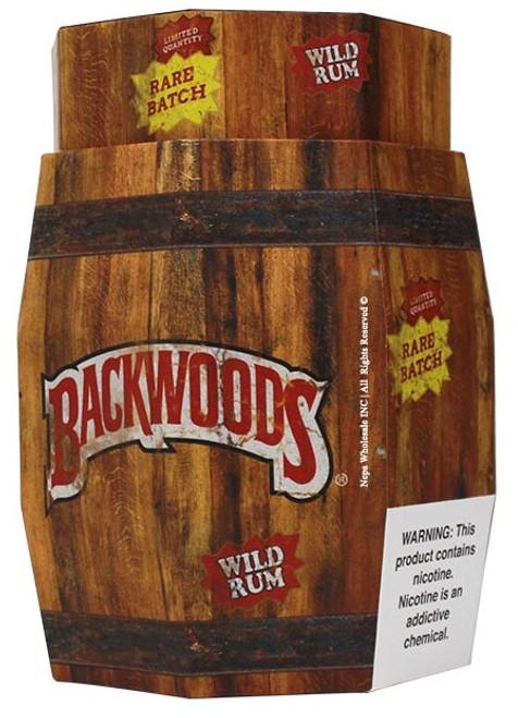 Backwoods Wild Rum Cigars 40Ct Display Barrel