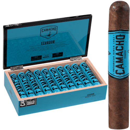 Camacho Ecuador Cigar Robusto Tubo 20 Ct. Box