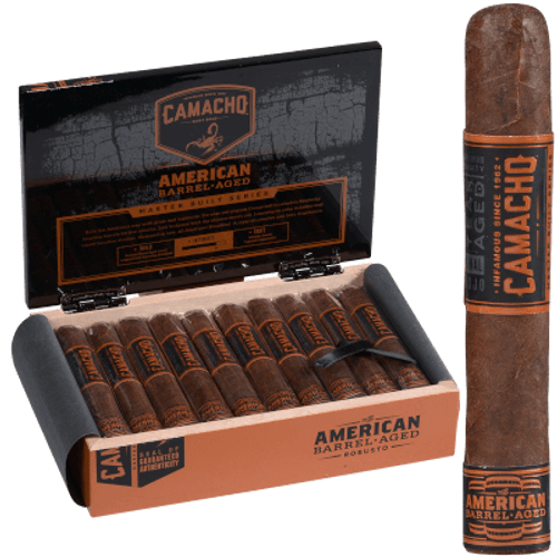 Camacho American Barrel-Aged Cigar Robusto 20 Ct. Box