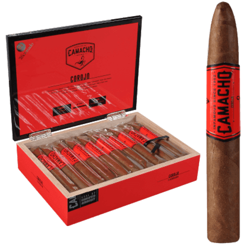 Camacho Corojo Natural Cigar Figurado 20 Ct. Box
