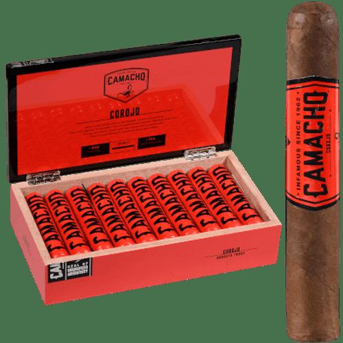 Camacho Corojo Cigar Robusto Tubo 20 Ct. Box