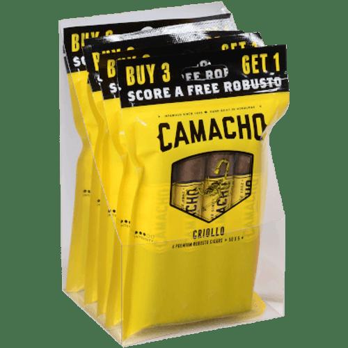 Camacho Criollo Cigar Robusto 5/4 Ct. Fresh Pack