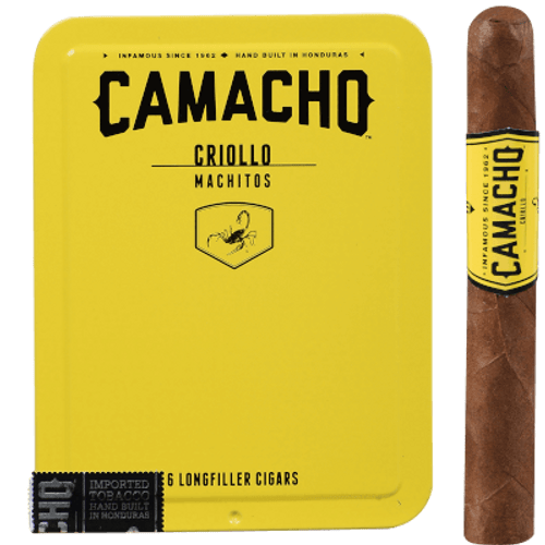 Camacho Criollo Machitos Cigar 5/6 Ct. Tins