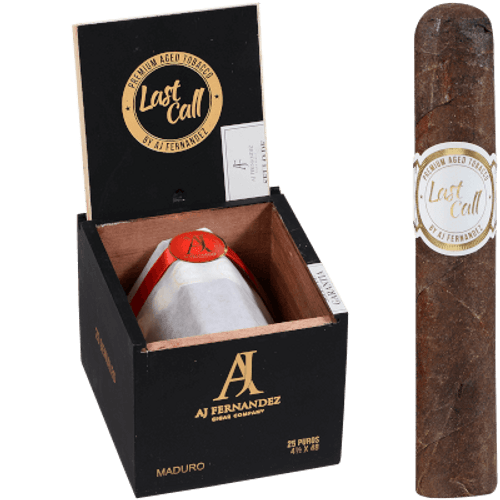 Last Call By Aj Fernandez Cigars Maduro Geniales 25 Ct. Box