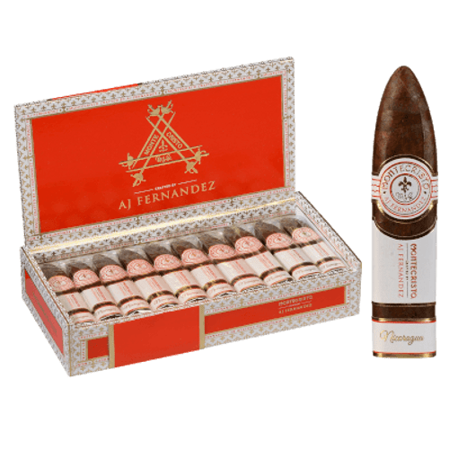 Montecristo Crafted By Aj Fernandez Cigars Figurado 10 Ct. Box