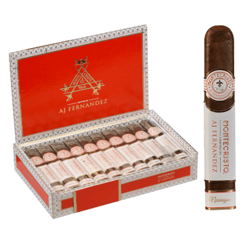 Montecristo Crafted By Aj Fernandez Cigars Robusto 10 Ct. Box