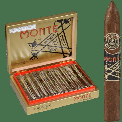Monte By Montecristo Monte By Aj Fernandez Cigars Belicoso 20 Ct. Box
