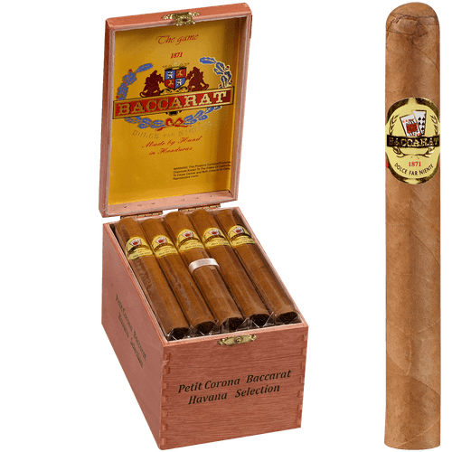 Baccarat Cigars Petit Corona Natural 25 Ct. Box 5.50X42
