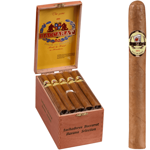 Baccarat Cigars Luchadores Natural 25 Ct. Box 6.00X43