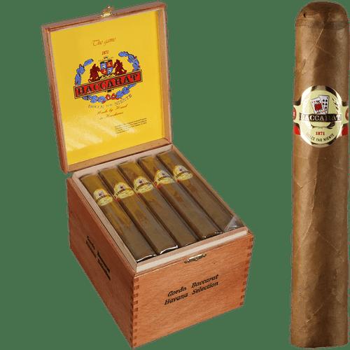 Baccarat Cigars Gordo Natural 25 Ct. Box 6.00X60
