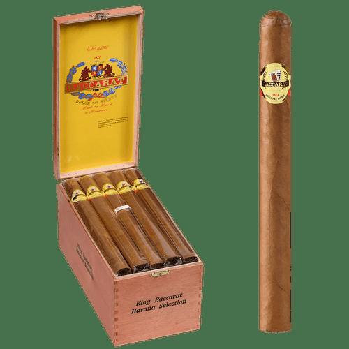 Baccarat Cigars King Natural 25 Ct. Box 8.50X52