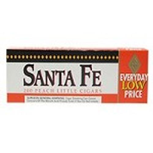 Santa Fe Filtered Cigars Peach