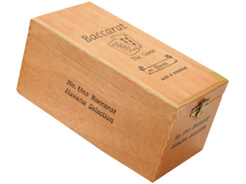 Baccarat Cigars No.1 Natural 25 Ct. Box 7.00X44