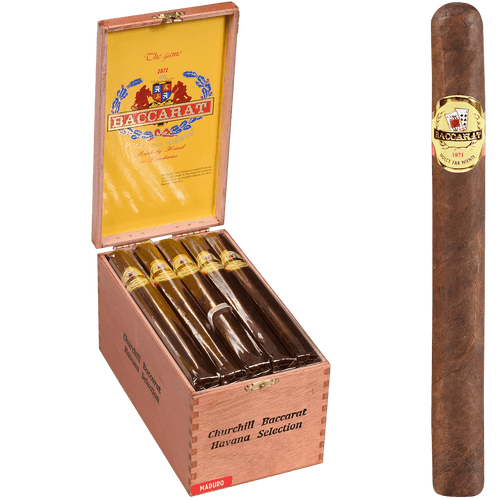 Baccarat Cigars Toro Natural 25 Ct. Box 6.00X50