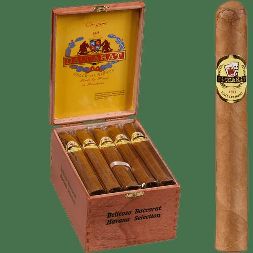 Baccarat Cigars Belicoso 20 Ct. Box 6.12X42X54