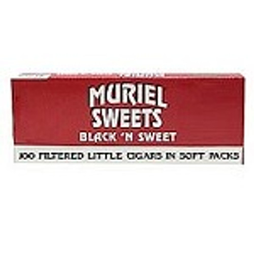 Muriel Little Cigars Black N Sweet