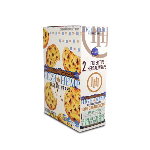 High Hemp Organic Wrap Baked Kookies  25Ct/2