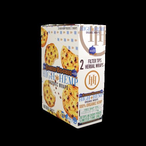 High Hemp Organic Wrap Baked Kookies  25Ct/2