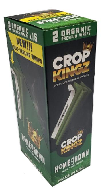 Crop Kingz Premium Organic Hemp Wraps - Homegrown