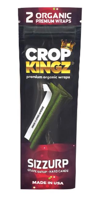 Crop Kingz Premium Organic Hemp Wraps Sizzurp