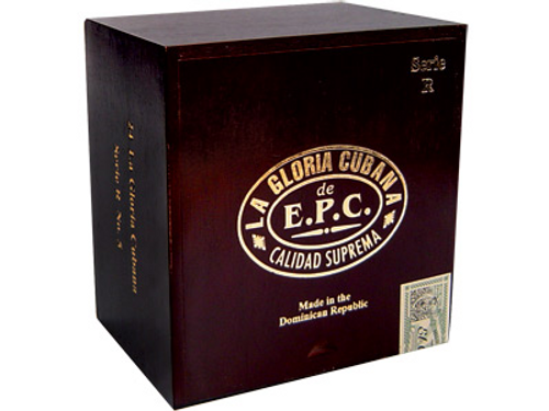 La Gloria Cubana Cigars Serie R No. 6 Natural (No Cello) 24 Ct. Box 5.88X60