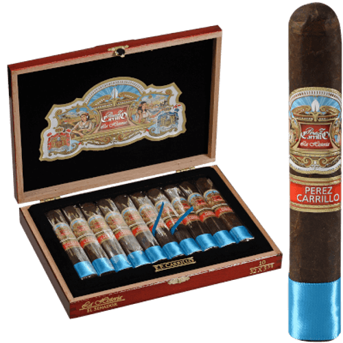 Perez Carrillo La Historia El Senador Cigars 10 Ct. Box
