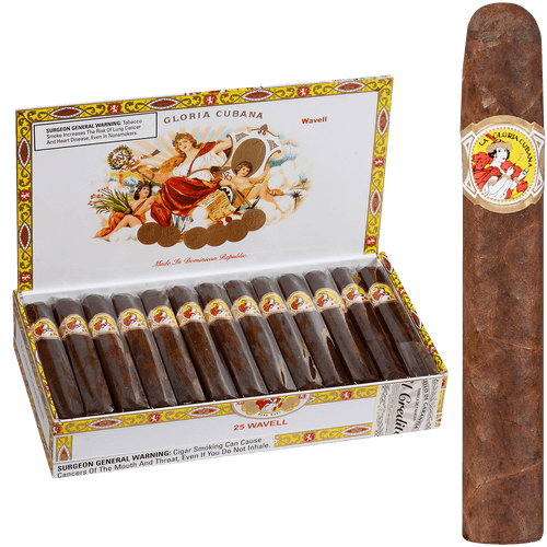 La Gloria Cubana Cigars Wavell Natural 25 Ct. Box 5.00X50