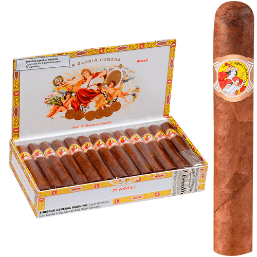 La Gloria Cubana Cigars Wavell Maduro 25 Ct. Box 5.00X50