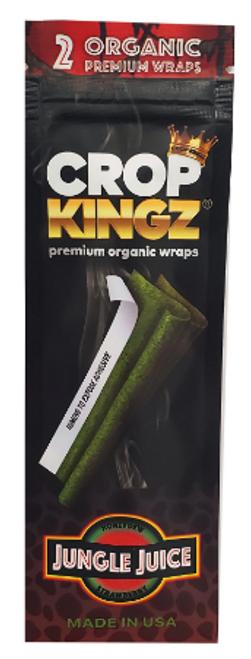 Crop Kingz Premium Organic Hemp Wraps Jungle Juice