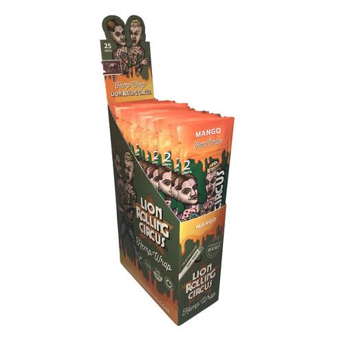 Lion Rolling Circus Hemp Wraps Mango 25/2