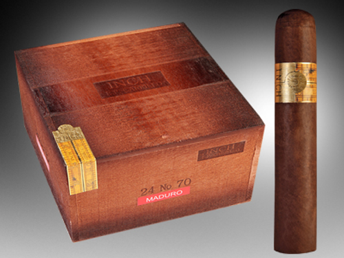 Inch Maduro Cigars  No.70 24 Ct. Box