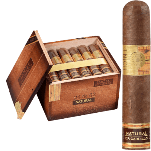 Inch Natural Cigars No.62 24 Ct. Box