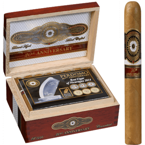 Perdomo 20th Anniversary Connecticut Cigars Robusto 24 Ct. Box
