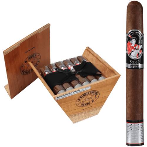La Gloria Cubana Cigars Serie R Esteli No. Sixty 18 Ct. Box 6.00X60