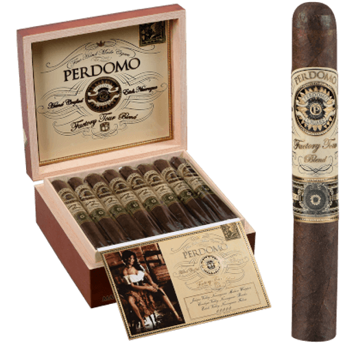 Perdomo Factory Tour Blend Maduro Toro 24 Ct. Box