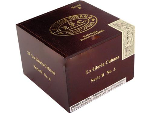 La Gloria Cubana Cigars Serie R No. 3 Natural (No Cello) 24 Ct. Box 4.50X56