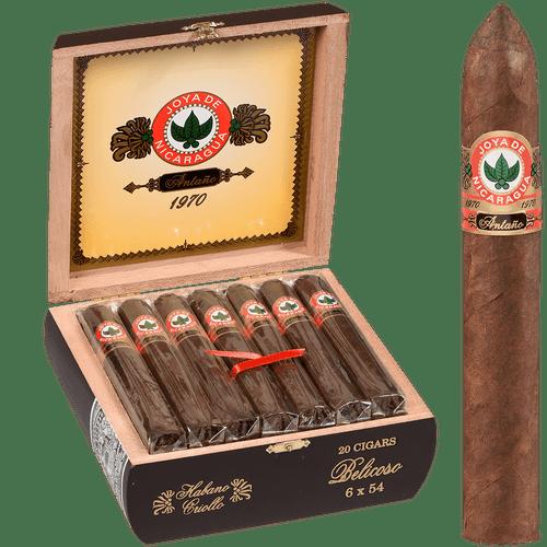 Joya De Nicaragua Cigars Antano 1970 Belicoso 20 Ct. Box 6.00X54
